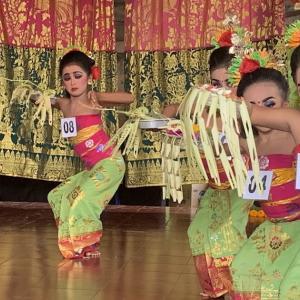 バリ舞踊、競技会
