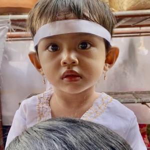 バリ島の子供