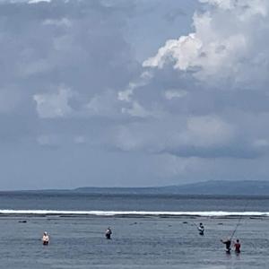 サヌールビーチの今