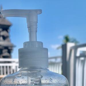 バリ島のアルコール消毒液事情