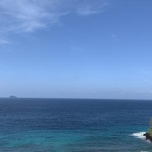 現在のブルーラグーンビーチ。透明度抜群です!