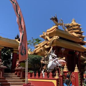 バリ島の中国寺院