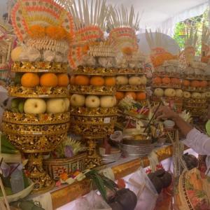 バリ島のウパチャラ、儀礼式