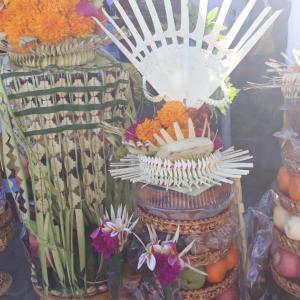 今日は特別な儀式の日「サラスワティ」