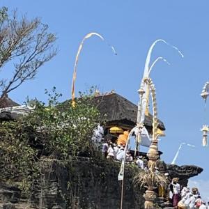 いつもと違うタナロット寺院