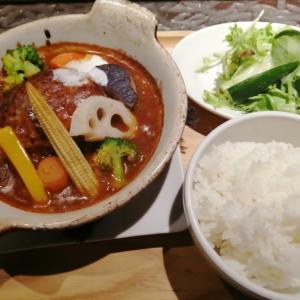 【札幌駅おすすめランチ】スペインバル「トーティラ フラット」の野菜たっぷりの煮込みハンバーグが美味しい♡