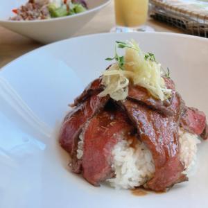 札幌駅ランチ「inZONE TABLE」しまざき壮健牛のステーキボウルが美味!個室も素敵♡