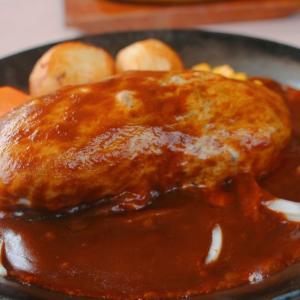 行列覚悟!森町「レストラン ケルン」のハンバーグが絶品♡駒ケ岳が見えるロケーション!