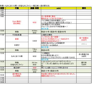 【決定】リベンジナマステ村ツーリング!!11月9日