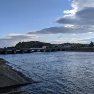 【ビワイチ15】行ってみた!瀬田川洗堰に早朝散歩