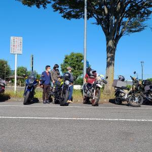 【ナマステ村ツーリング】土坂志賀坂からバイク弁当へ!