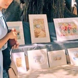 セビリアの絵画マーケット