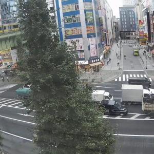 朝の金沢・静岡・秋葉原の様子