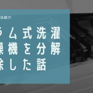 【掃除方法】ドラム式洗濯乾燥機が乾かないので、分解したらとんでもないことに…(閲覧注意)