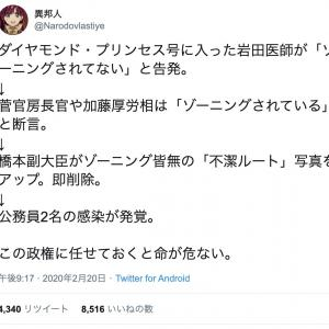 【 COVIT-19 】日本の今。
