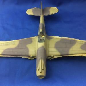 アカデミー カーティス P-40C トマホーク 9 基本塗装