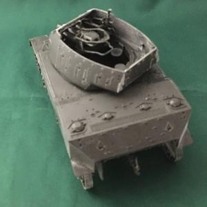 タミヤ:1/35 米陸軍 M8 自走榴弾砲 Vol.2 ほぼ組みあがりました。