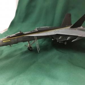 ハセガワ 1:72 F/A-18E スーパーホーネト 製作記 Vol.24