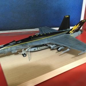 ハセガワ 1:72 F/A-18E スーパーホーネト 製作記 Vol.26