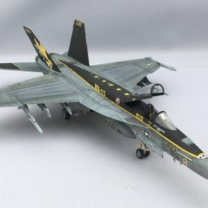 ハセガワ 1:72 F/A-18E スーパーホーネト 製作記 Vol.29
