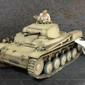 タミヤ:II号戦車F/G Nr.15