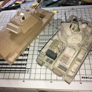 イタレリ イギリス巡航戦車 クルセーダーMk.? No.10 ローズヒップ号への道