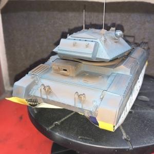 イタレリ イギリス巡航戦車 クルセーダーMk.? No.29 ローズヒップ号への道