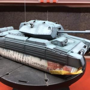 イタレリ イギリス巡航戦車 クルセーダーMk.? No.30 ローズヒップ号への道