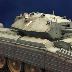 イタレリ イギリス巡航戦車 クルセーダーMk.? No.34 ローズヒップ号への道 完成