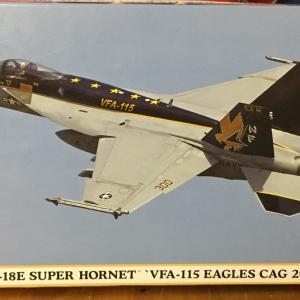 ハセガワ 1:72 F/A-18E スーパーホーネト 製作記 Vol.29 終了