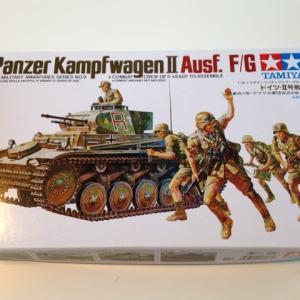 タミヤ:II号戦車F/G Nr.16