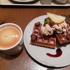 「マザーリーフ ティースタイル」は紅茶だけじゃなくて、ワッフルも美味しかった!!!