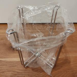 ニトリのおすすめアイテム!!「ポリ袋スタンド」と「フリーザーバッグ」
