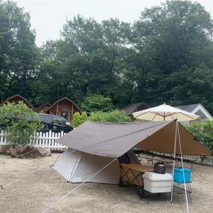 7月のキャンプ…まさかの高規格