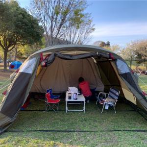 4月のキャンプ