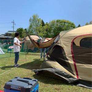 5月のキャンプ①