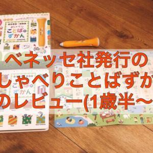 【おしゃべりことばのずかん】1歳半から日本語・英語を学べる知育玩具の口コミ