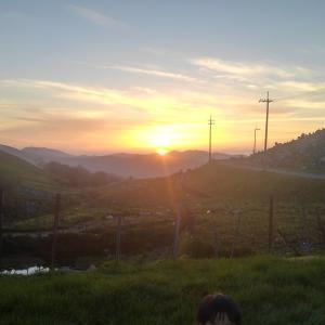 [GW車中泊~四国編(6日目)]四国カルストで絶景キャンプ&本日の費用