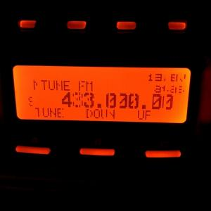 去年の9月の無線機購入