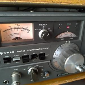 TSー520V 21MHzチューニング