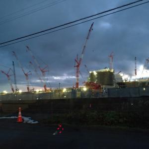 日本ハム新球場工事