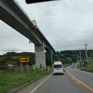日高道 節婦の高架橋ほぼ完成?