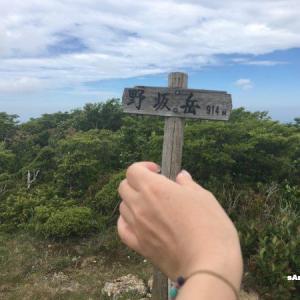 【野坂岳】福井県敦賀市の最高峰!梅雨入り前に敦賀富士から見下ろす絶景!