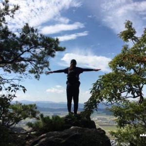 【太郎坊山】太郎坊宮から赤神山(太郎坊山)~箕作山~小脇山~岩戸山と四座を縦走:後編
