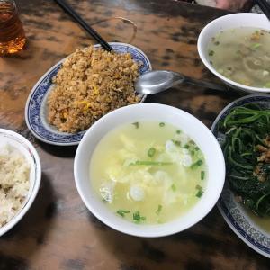 台東グルメ 24時間営業の食堂『旺旺鶏肉飯』中山路と新生路の交差点近く