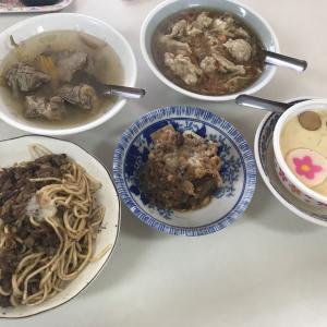 台東グルメ 米糕や肉焿が安くてウマい!茶碗蒸しもある食堂『北港小吃部』