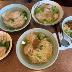 台中グルメ 肉のうま味ぎっしりワンタン『富子江家餛飩』ワンタンもスープも乾麺も美味しい!