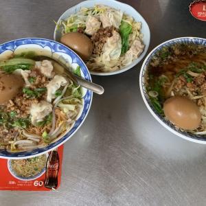 台中グルメ コシのあるツルツル意麺35元!安くてウマい『高家意麺』台中駅近く