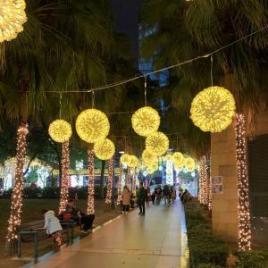 台北観光『クリスマスランド 』イルミネーション&屋台&ライブetc『新北市歡樂耶誕城』
