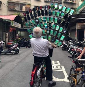 台湾中にある變電箱(変電箱)がポケストップな理由&驚異のポケモンおじぃ